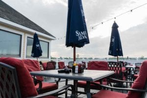 Adams Pub Outdoor Waterfront Seating Adams Inn Quincy Boston
