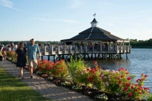 Outdoor Waterfront Event Venue at Adams Inn Quincy Boston